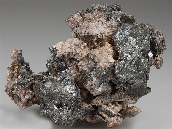 Argentite With Native Silver