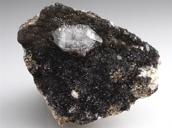 Quartz on Goethite