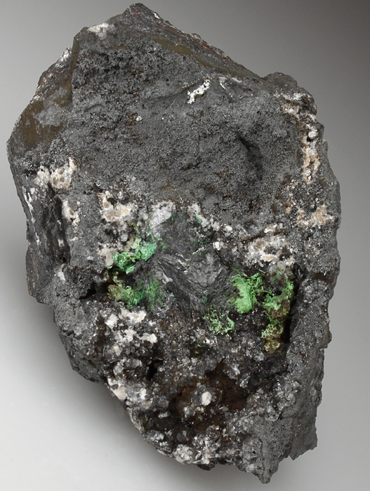 Crednerite With Malachite