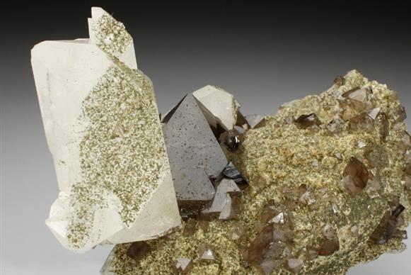 Scheelite and Quartz