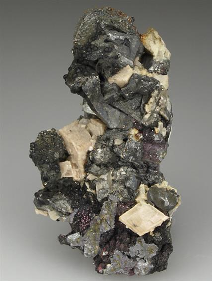 Native Bismuth With Dolomite