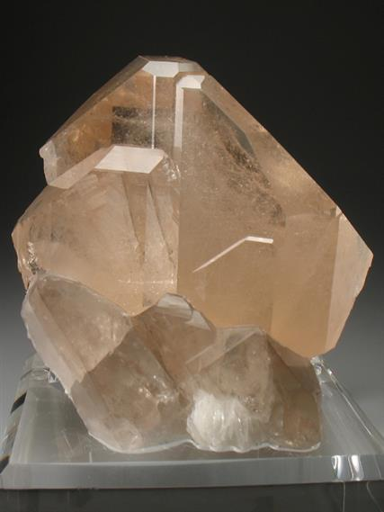 Topaz With Smoky Quartz and Cleavelandite