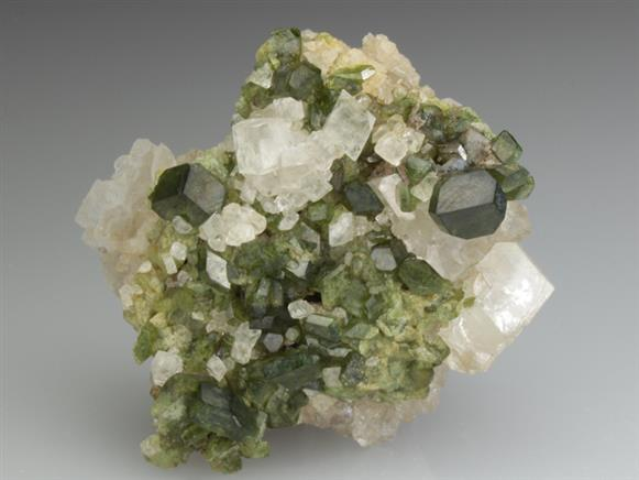 Uvite With Magnesite