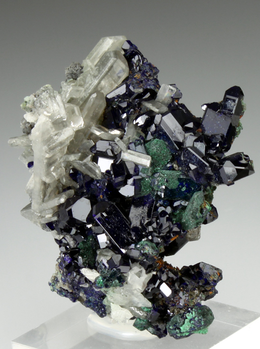 Azurite With Cerussite