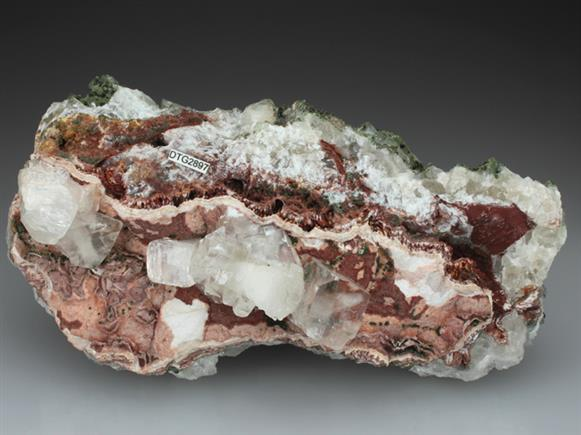 Calcite With Duftite and Conichalcite