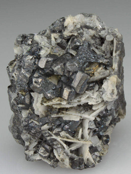 Bournonite and Quartz