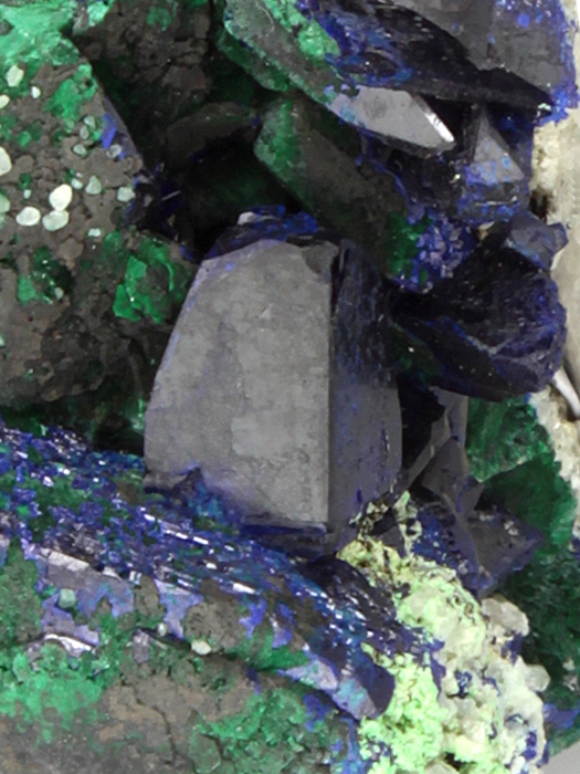 Malachite After Azurite