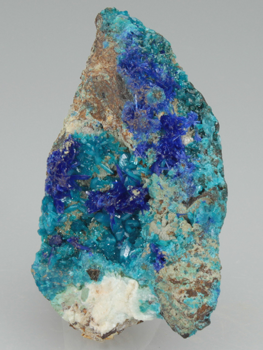 Linarite on Caledonite
