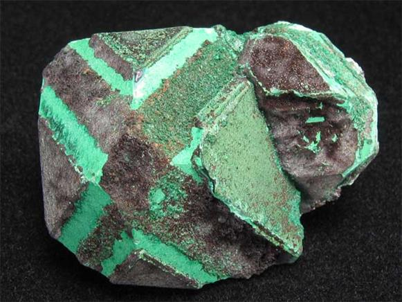 Cuprite With Malachite