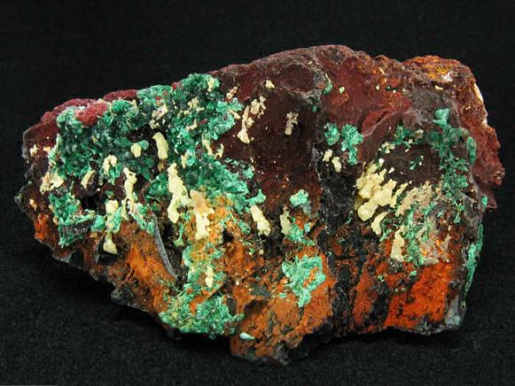 Iodargyrite With Malachite