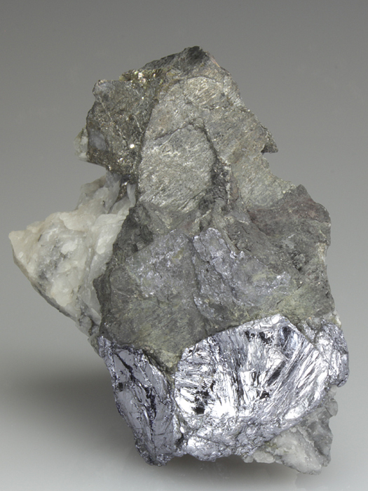 Molybdenite With Native Bismuth
