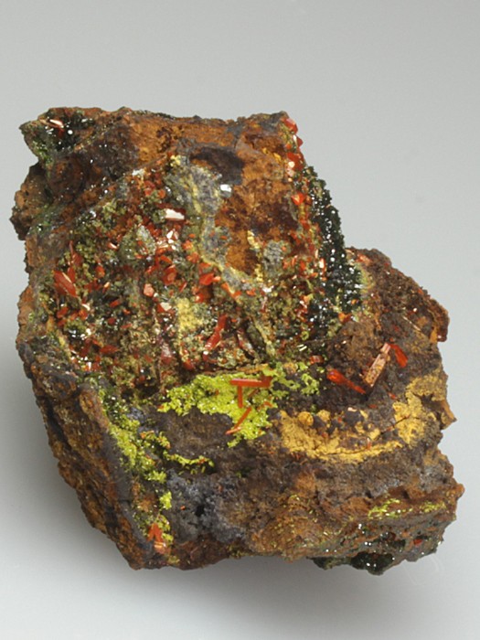 Crocoite With Pyromorphite