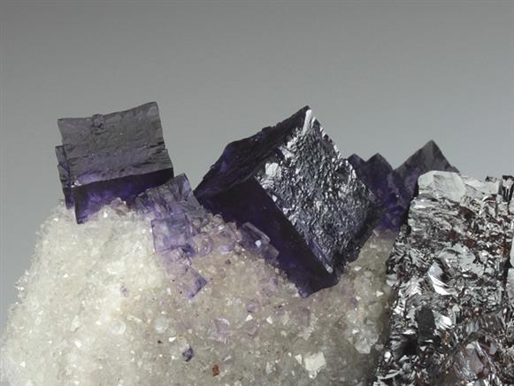 Fluorite With Sphalerite