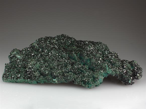 Libethenite on Pseudomalachite