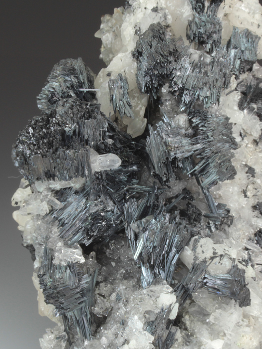 Betekhtinite With Quartz and Calcite