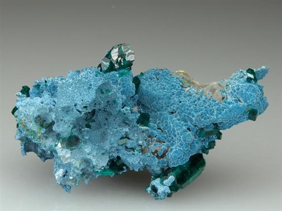 Dioptase With Shattuckite