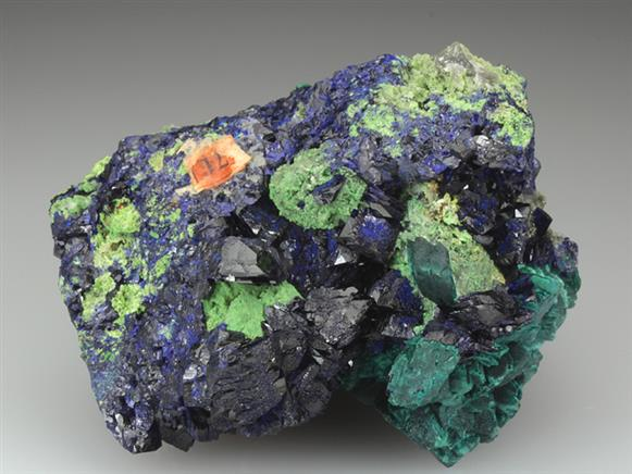 Malachite Psuedomorph After Azurite