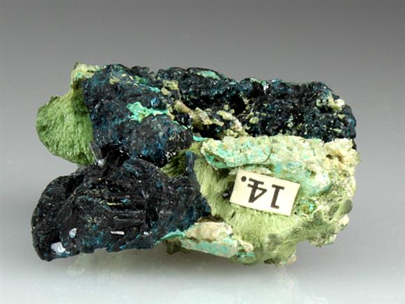 Clinoclase With Olivenite