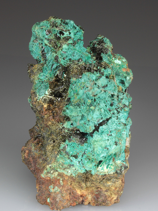 Cornwallite and Olivenite