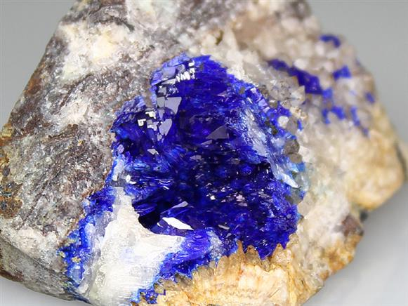 Linarite With Leadhillite
