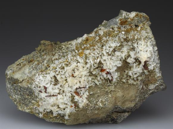 Brookite With Albite