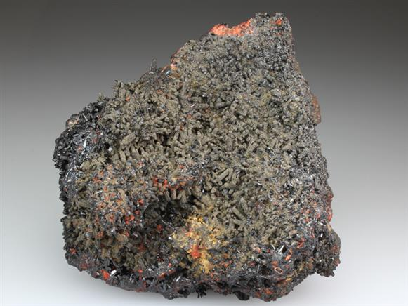 Gaudefroyite With Andradite