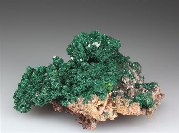 Malachite on Dolomite