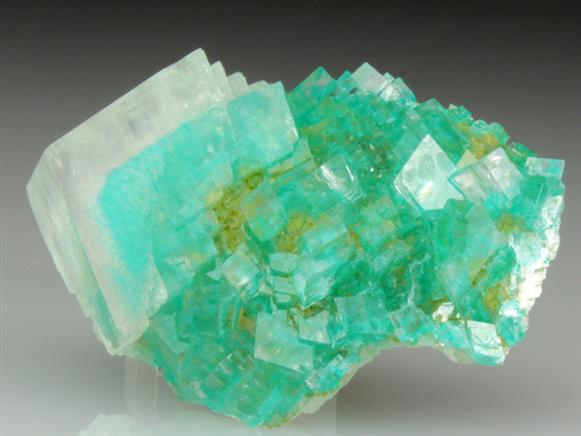 Calcite With Dioptase Inclusions