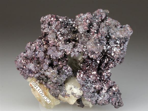 Cuprite With Quartz