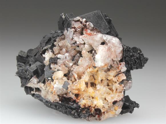 Anglesite Psudomorphed By Cerussite
