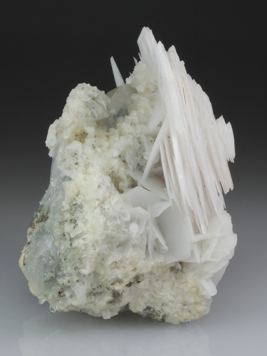 Calcite on Quartz With Dolomite