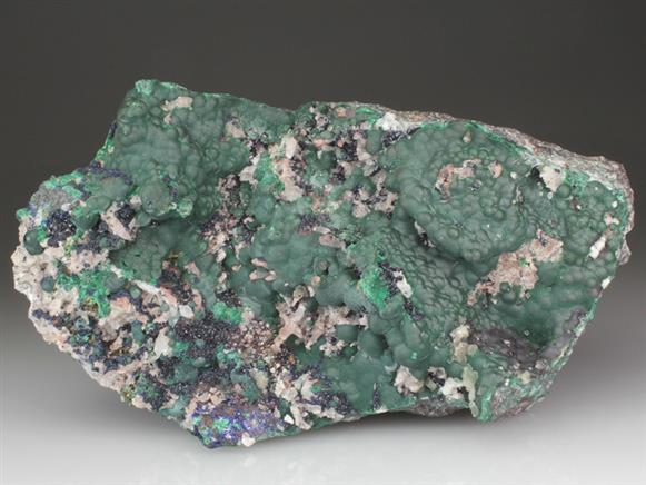Malachite, Azurite and Cerussite