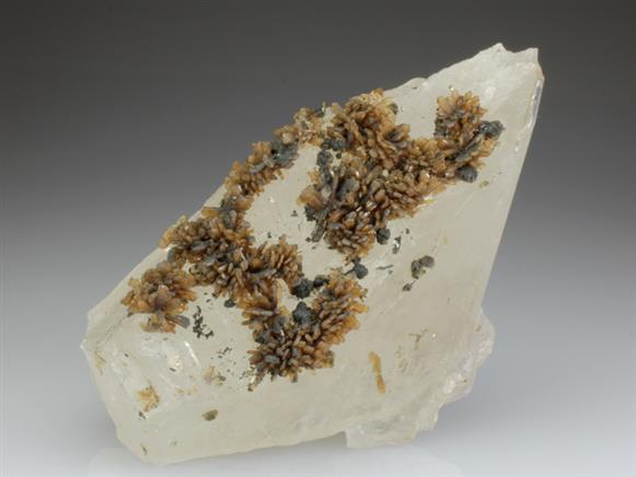 Eosphorite on Quartz