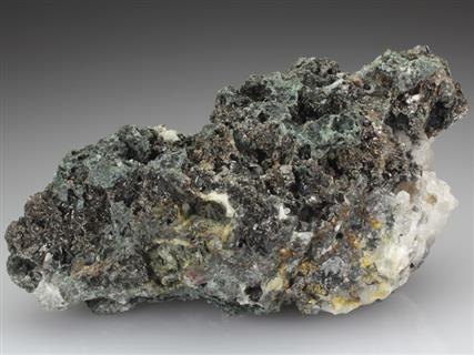 Cassiterite on Chlorite and Quartz