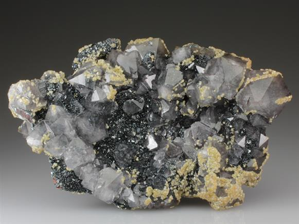 Quartz and Dolomite With Hematite