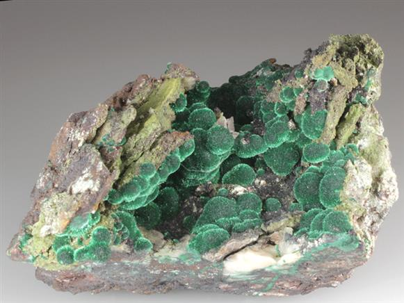 Malachite With Conichalcite