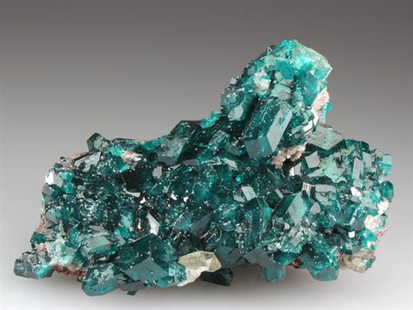 Dioptase With Molybdofornacite