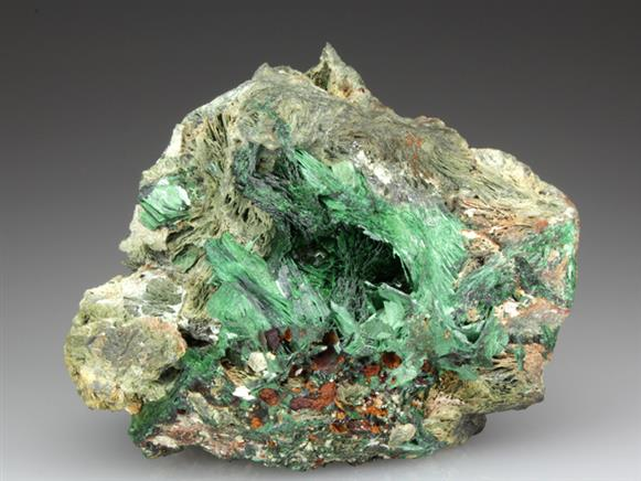 Szenicsite With Powellite