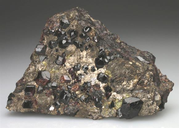 Spessartine Garnet With Pyrrhotite