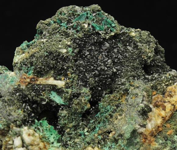 Olivenite With Cornwallite