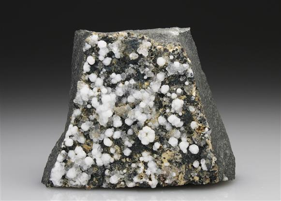 Phillipsite and Chabazite With Ludwigite
