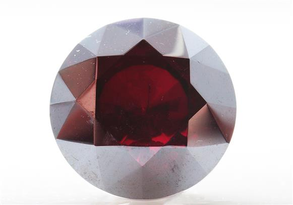 Faceted Cuprite