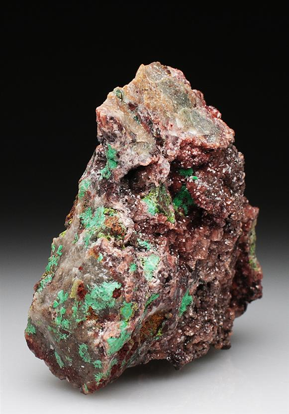 Agardite-ce on Dolomite  With Malachite and Duftite