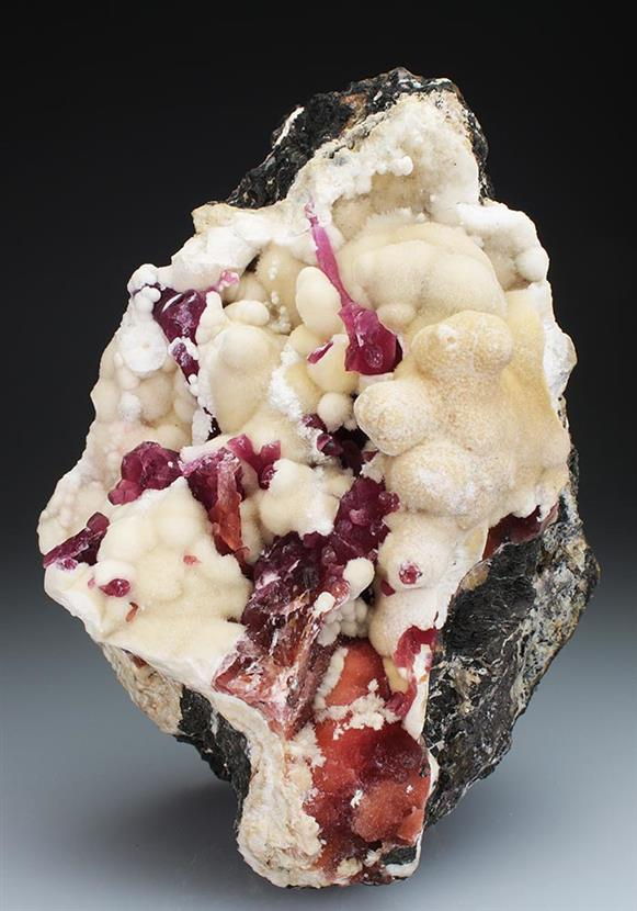 Cobaltoan Calcite With Aragonite
