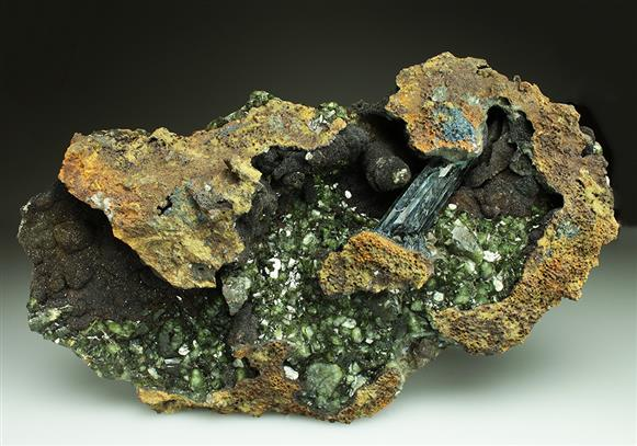 Vivianite With Ludlamite