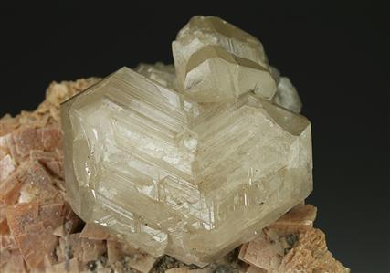 Cerussite on Dolomite