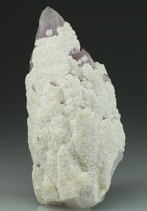Quartz Var Amethyst With Dolomite