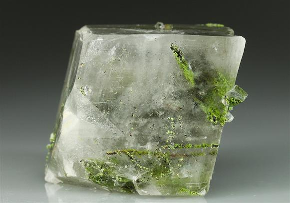 Duftite-conichalcite In Calcite
