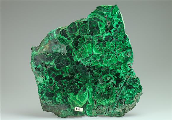 Malachite Polished Slice
