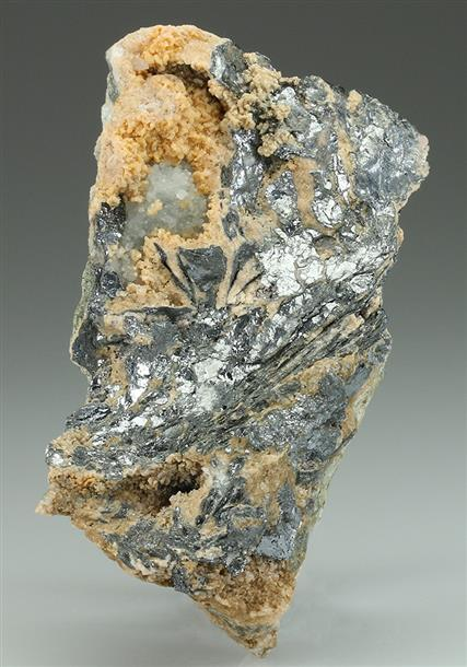 Nagyagite In Calcite